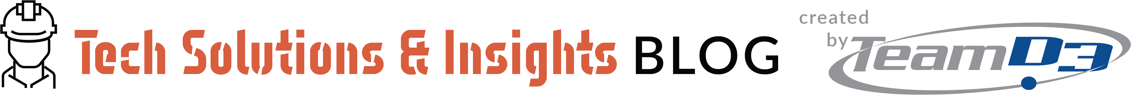 Tech Solutions & Insights Blog logo - With dude-2